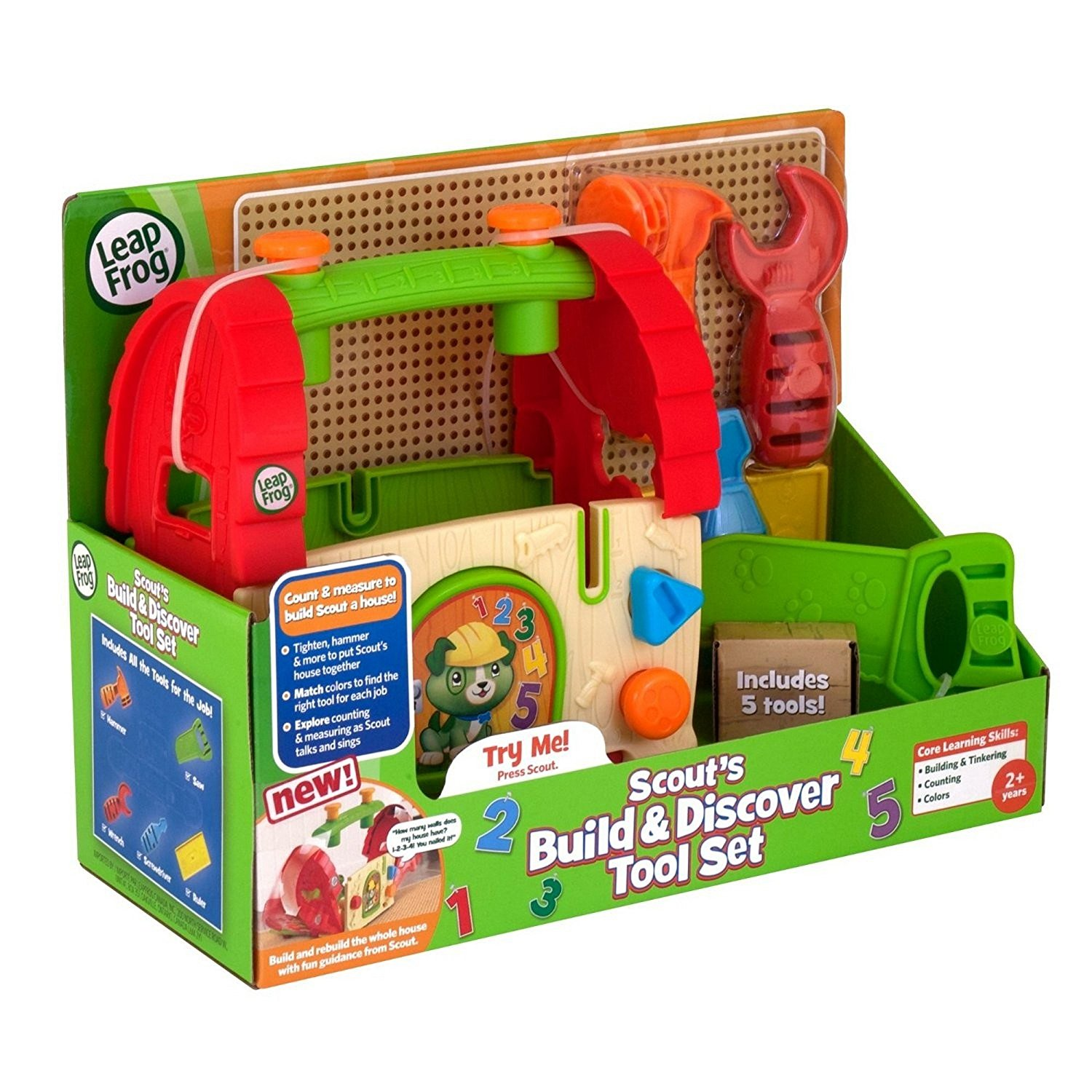 Leapfrog Build and Discover Doghouse