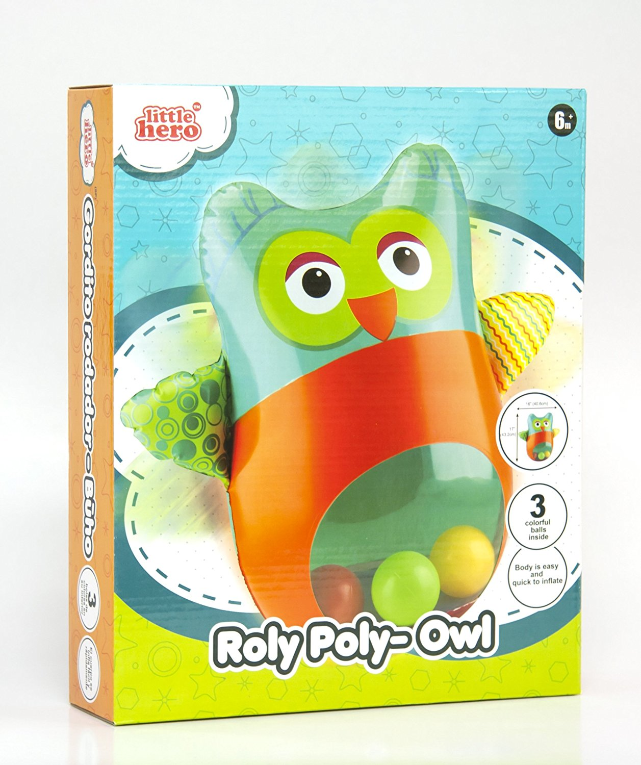 Roly Poly - Owl