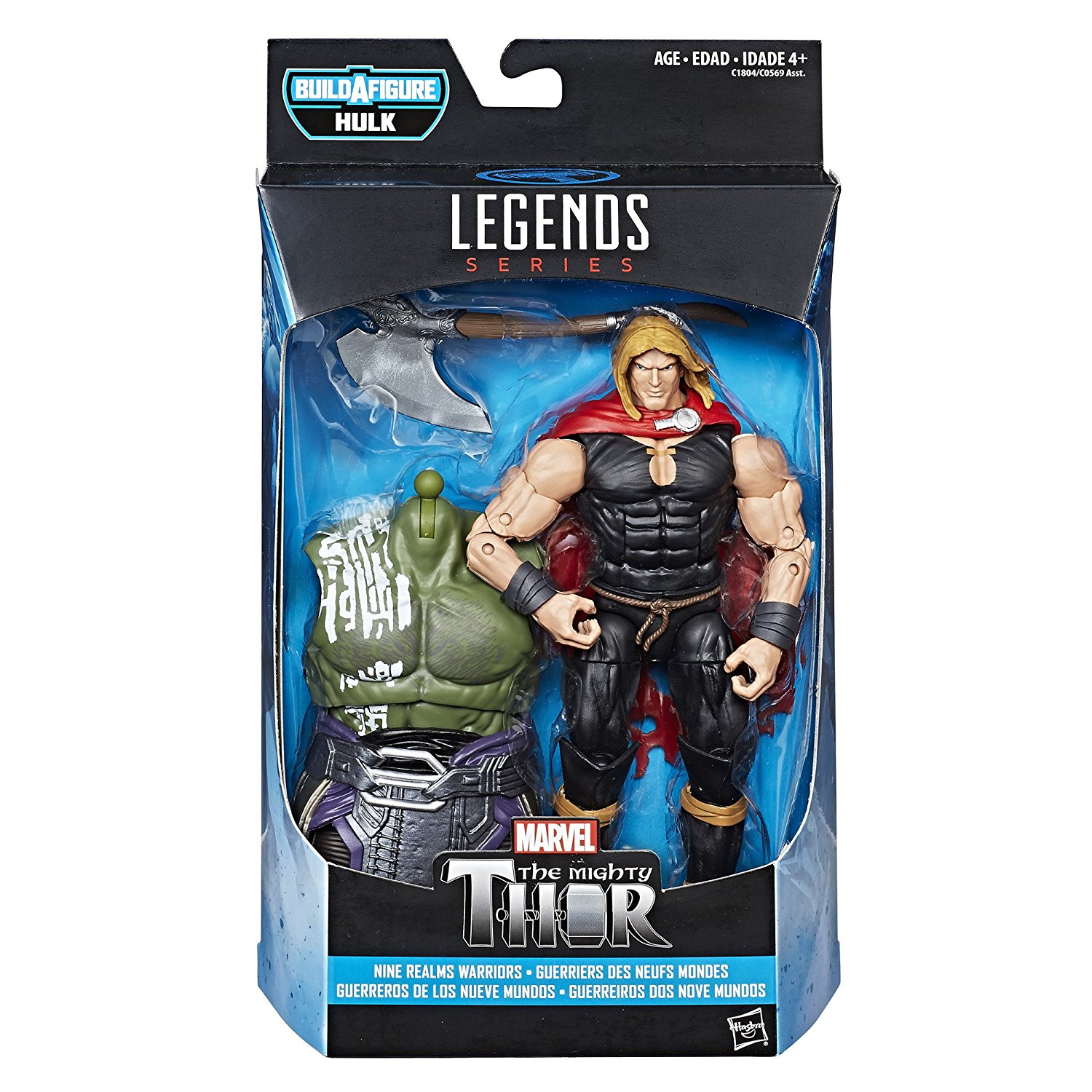 Avengers Marvel Legends Series Nine Realms Odinson Warriors (6.41 cm)