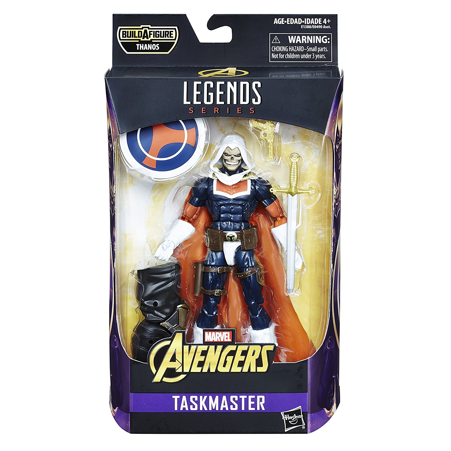 Avengers Marvel Legends Series - Taskmaster (6 inch)
