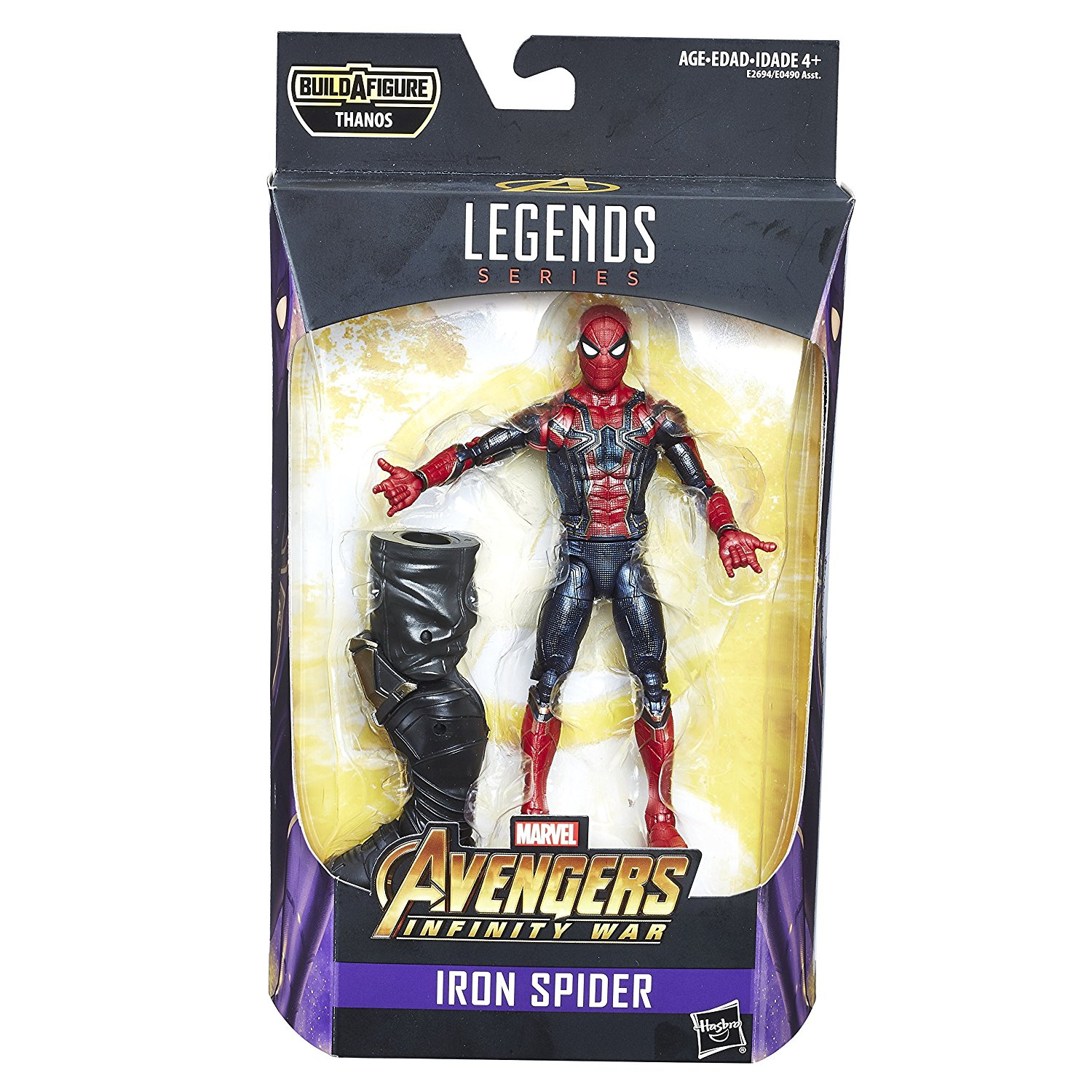 Avengers Marvel Legends Series - Spider-Man (6 inch)
