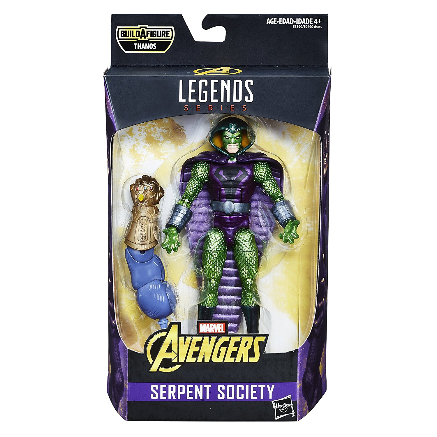 Avengers Marvel Legends Series - Serpent Society (6 inch)