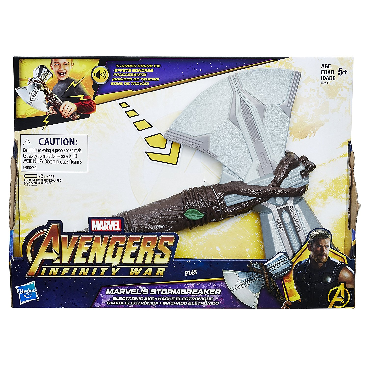Marvel Infinity War Marvel's Storm Breaker Electronic Axe